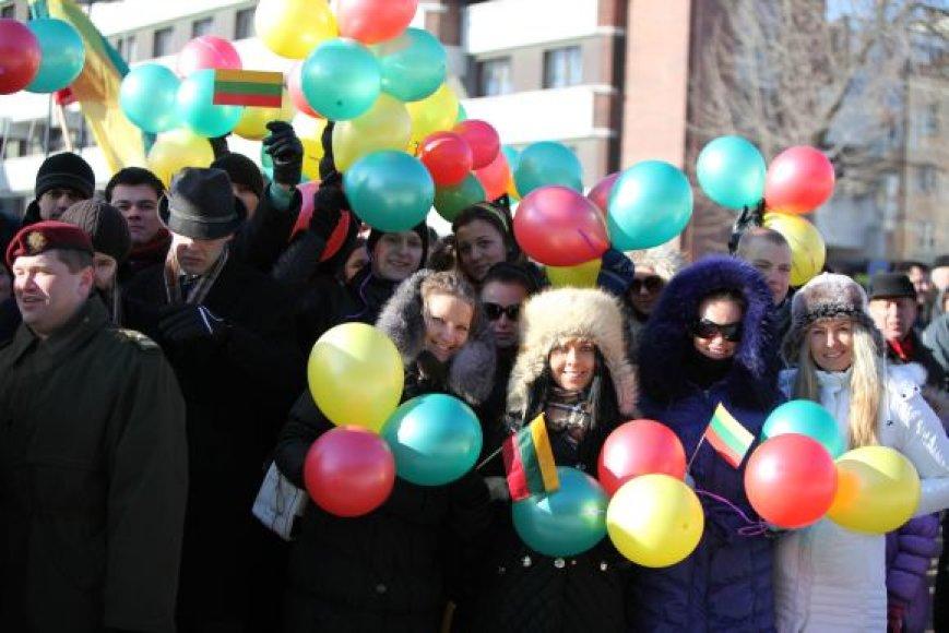 Kovo 11-osios renginiai prasidės spalvinga jaunimo eisena Klaipėdos gatvėmis.
