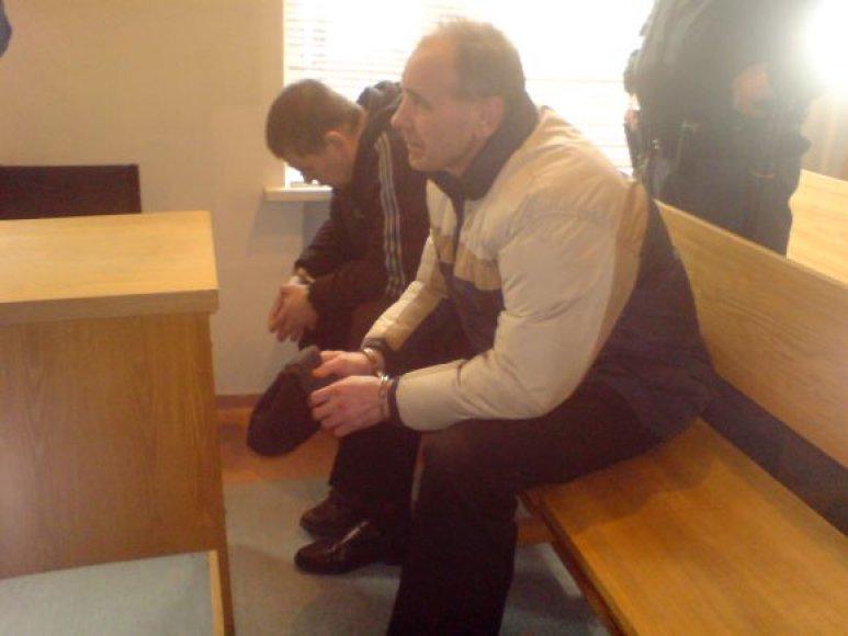 V.Karpovas ir G.Ušurenkinas nuosprendžio laukė tylėdami.