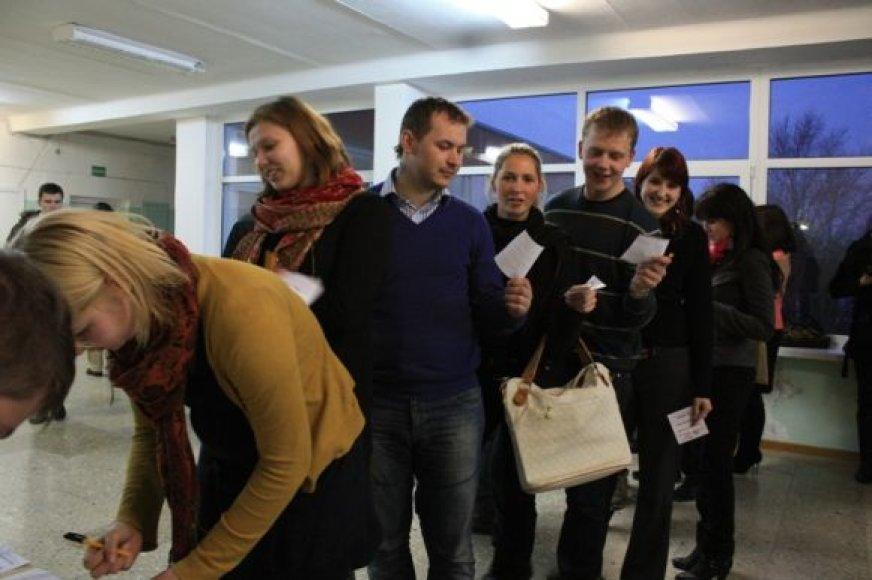 Klaipėdos jaunimas rinkosi naujus vadovus.