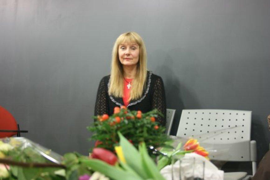 """Filmo """"Malonė"""" režisierė – Dalia Kanclerytė."""