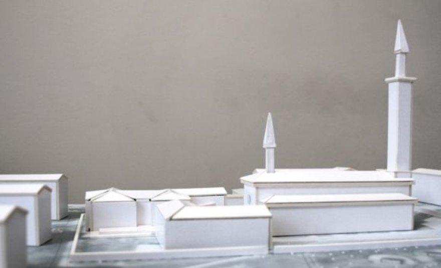 Marijos Taikos Karalienės bažnyčios parapijos teritorijos vizualizacija