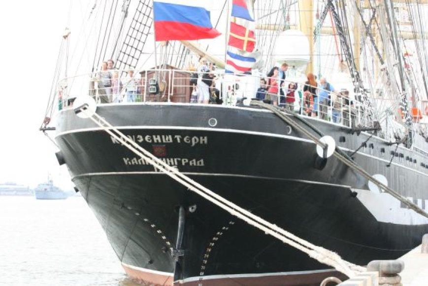 Didysis burlaivis vėl sugrįš į Klaipėdos uostą