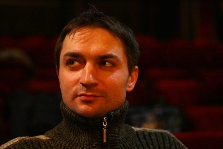 Spektaklio režisierius Darius Rabašauskas