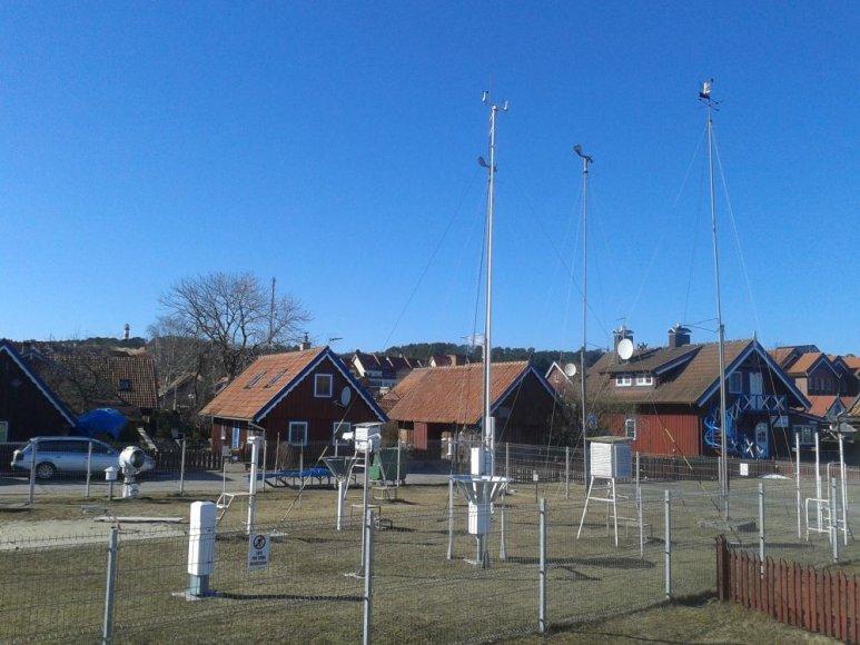 Nidos meteorologinių stebėjimų stotelei – 115 metų.