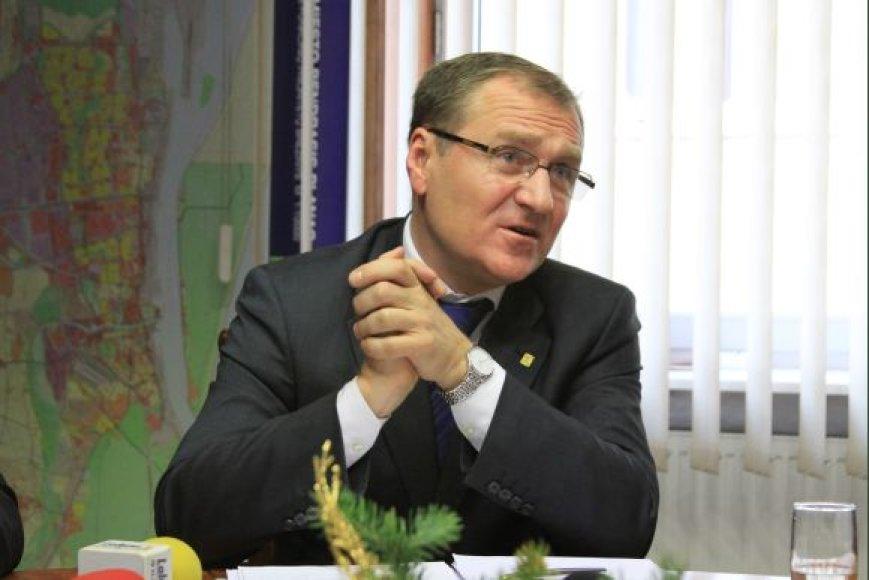 Sveikatos apsaugos ministras Algis Čaplikas trečiadienį viešėjo Klaipėdoje.
