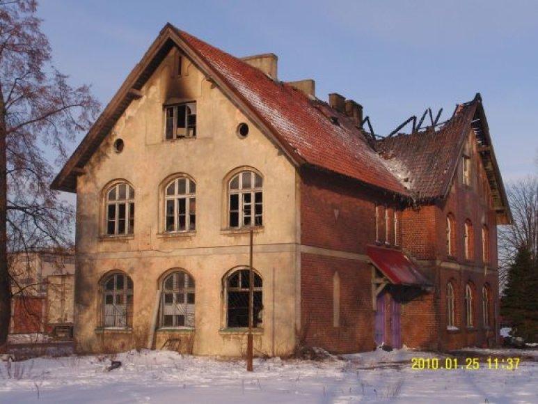 Smeltės istorinė mokykla.