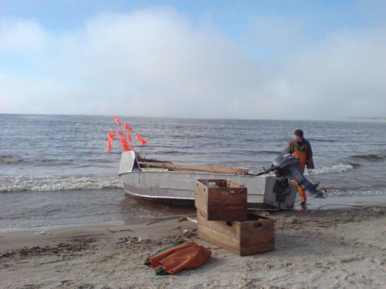 Dėl uosto vykdomų darbų žvejybą turėję nutraukti žvejai sulauks kompensacijų.