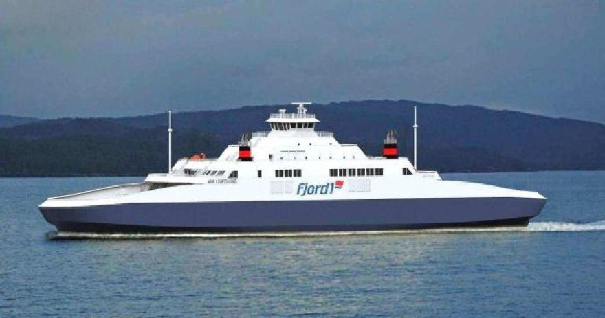 """Keltas, talpinsiantis 600 keleivių ir net 242 lengvuosius automobilius, bus statomas Norvegijos kompanijai """"Fjord1""""."""