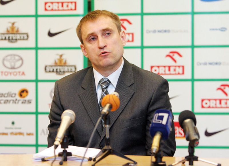 Rinktinės treneris K.Kemzūra atskleidė krepšininkų, kuriuos jis kvies į rinktinę, pavardes.