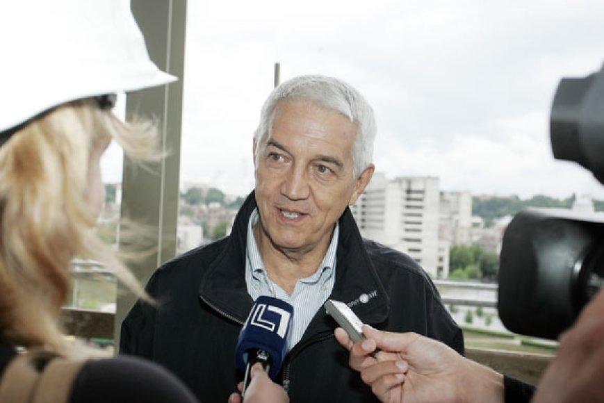 """""""FIBA Europe"""" generalinis sekretorius Naras Zanolinas"""