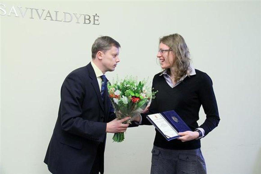 Austra Skujytė ir Andrius Kupčinskas