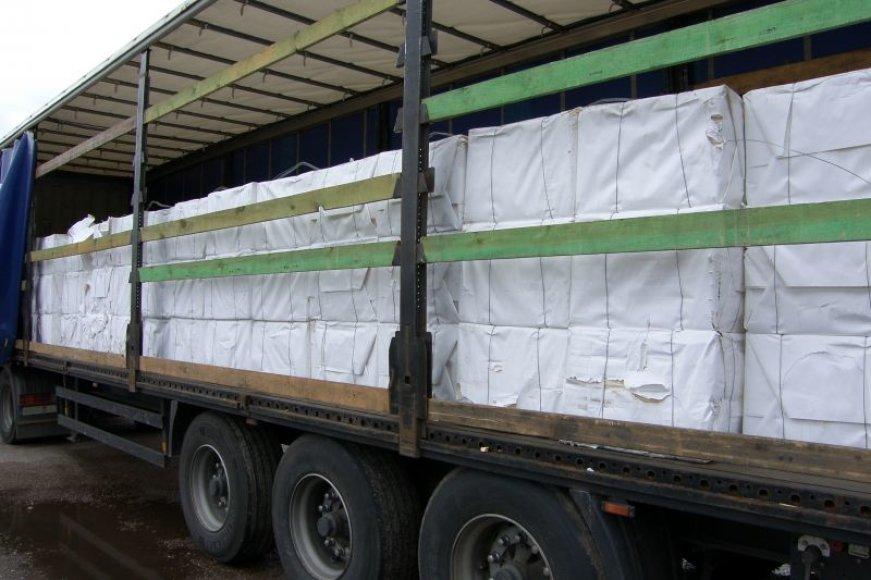 Konfiskuotas krovinys