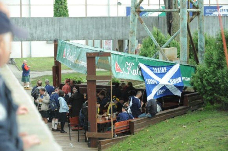 Sirgaliai stadiono bare