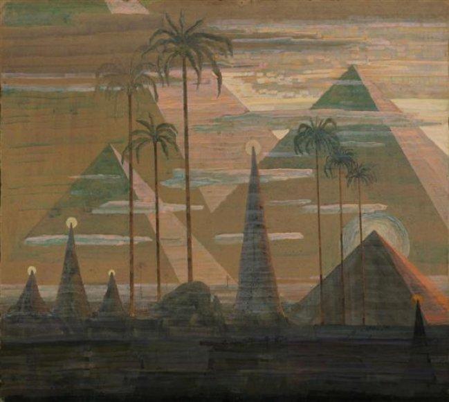 """Nuo praėjusios savaitės pabaigos galerijoje galima išvysti ilgai ieškotą """"Piramidžių sonatos"""" Andante dalį."""