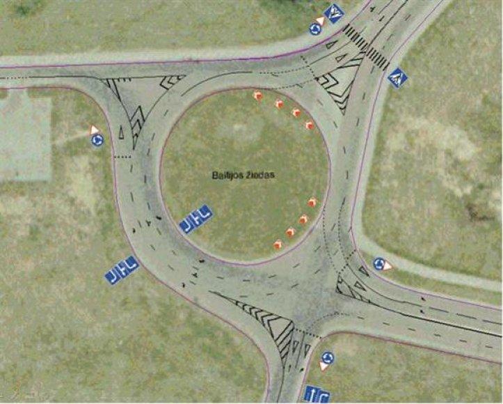 Naujosios eismo tvarkos schema