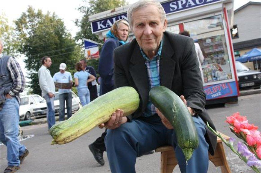 Daržovių pardavėjas Kaune