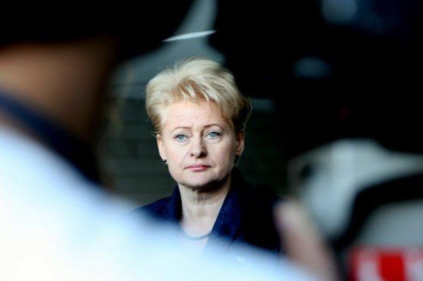 Prezidentė D. Grybauskaitė Nacionalinėje dailės galerijoje