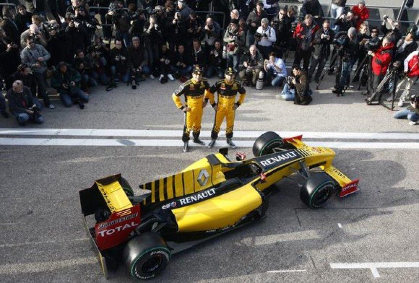 """Naujas """"Renault"""""""