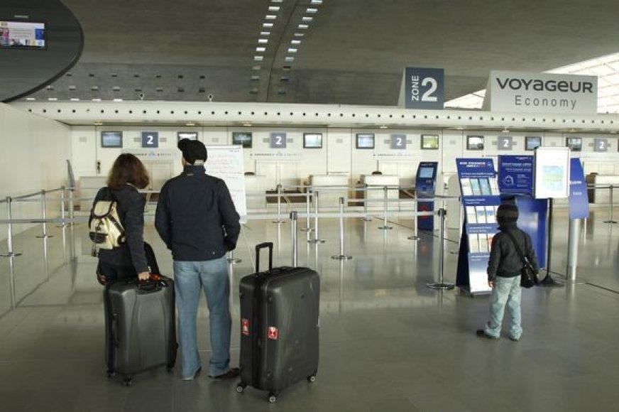 Paryžius, Charles'io de Gaulle'o oro uostas