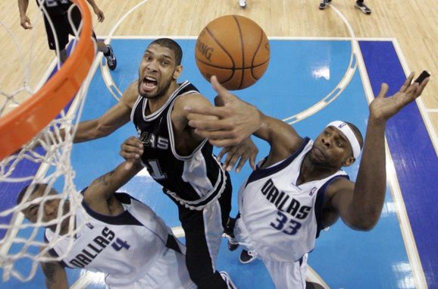 """Spurs"" pergalė"