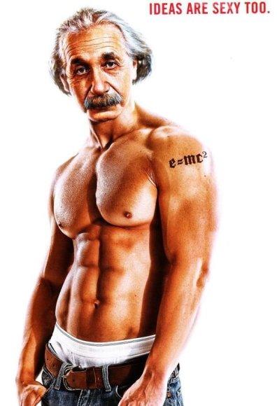 Einsteino fotomontažas