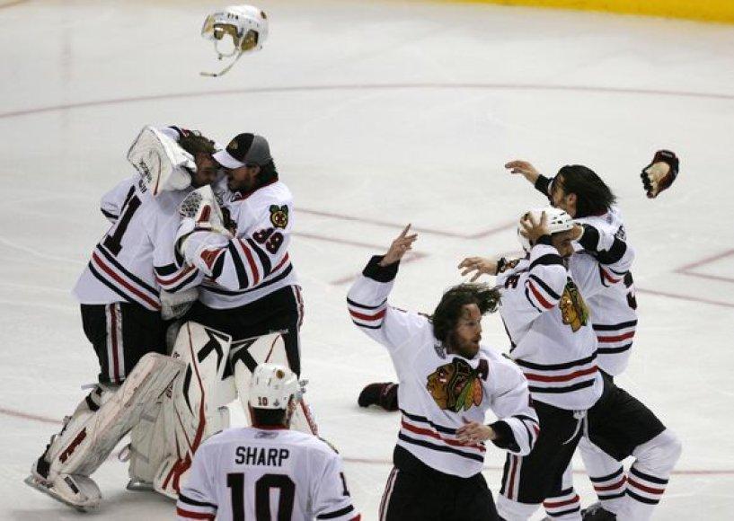 """""""Blackhawks"""" triumfas"""