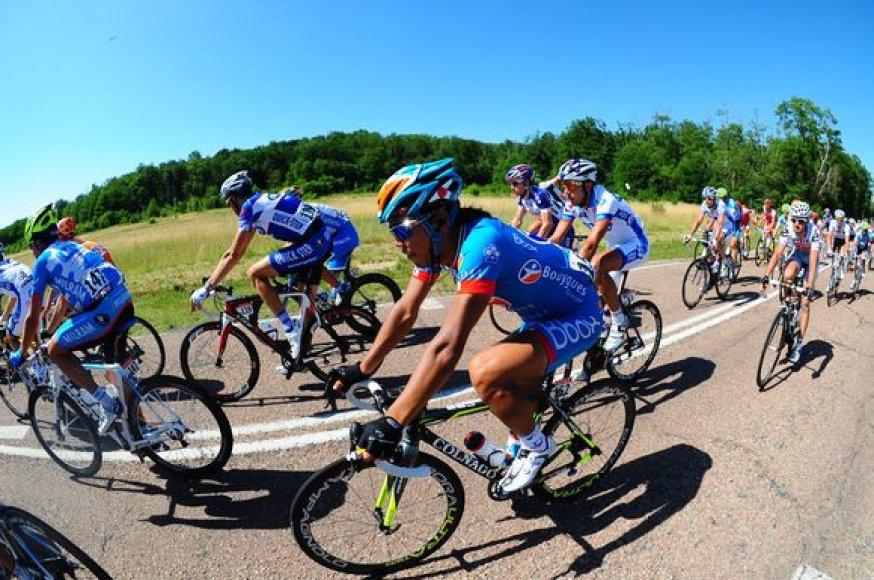 """Tour de France"" lenktynių akimirka"