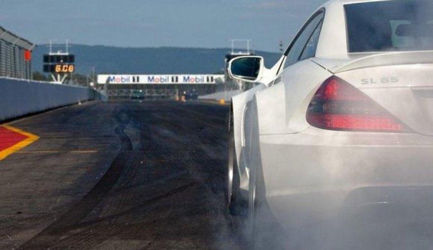 """Mercedes SL 65 AMG Black Series"""