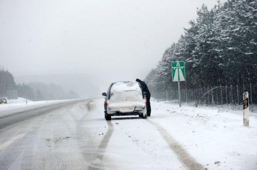 Oro sąlygos keliuose