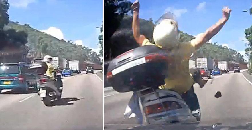 Incidentas greitkelyje
