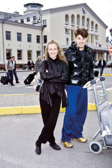 Foto naujienai: Edita Daniūtė ir Angelo Madonia: į Lietuvą – dviem dienoms