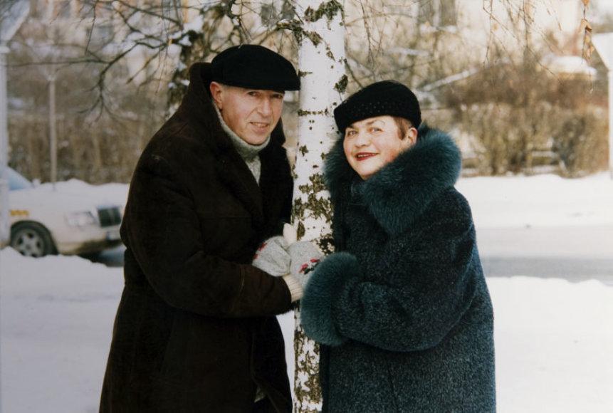 Aleksas Lemanas ir Ona Milda Lemanienė
