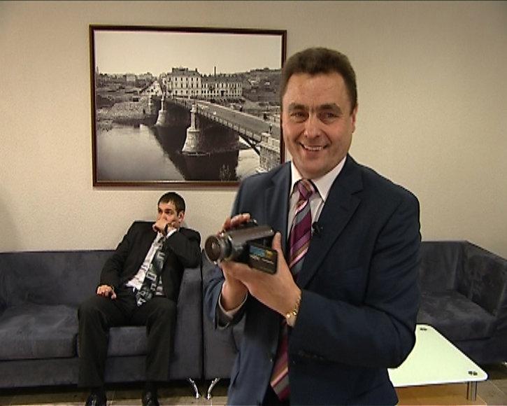 """Foto naujienai: Petras Gražulis tapo laidos """"Kakadu"""" specialiuoju korespondentu"""