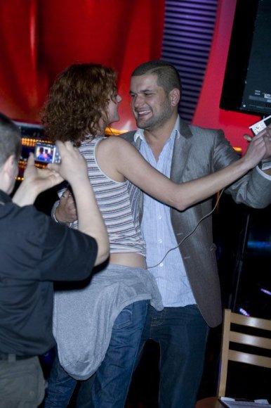 Foto naujienai: Laura Paukštė ir Dominykas Kubilius: tango užkulisiuose