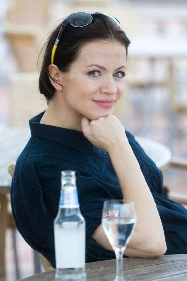 Foto naujienai: Aistė Pilvelytė prieš gimdymą nusiteikusi puikiai!