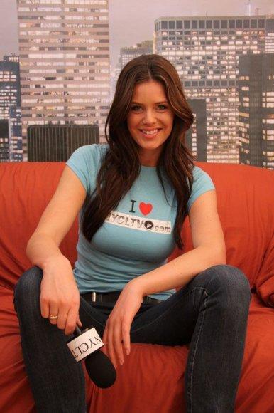 Foto naujienai: Giedrė Rusytė: ne tik modelis, bet ir reporterė