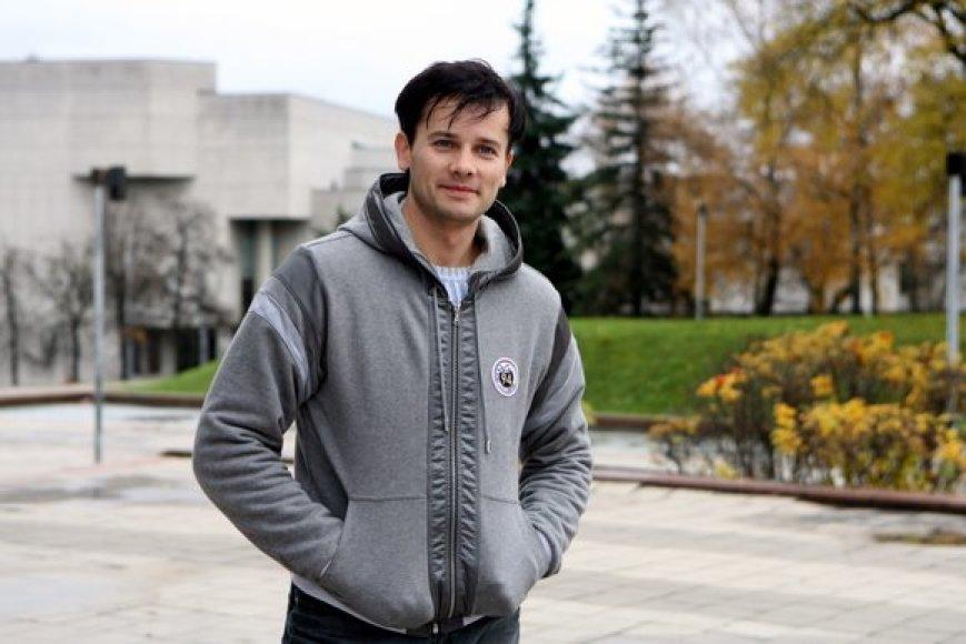 Lietuvos baleto artistas Nerijus Juška