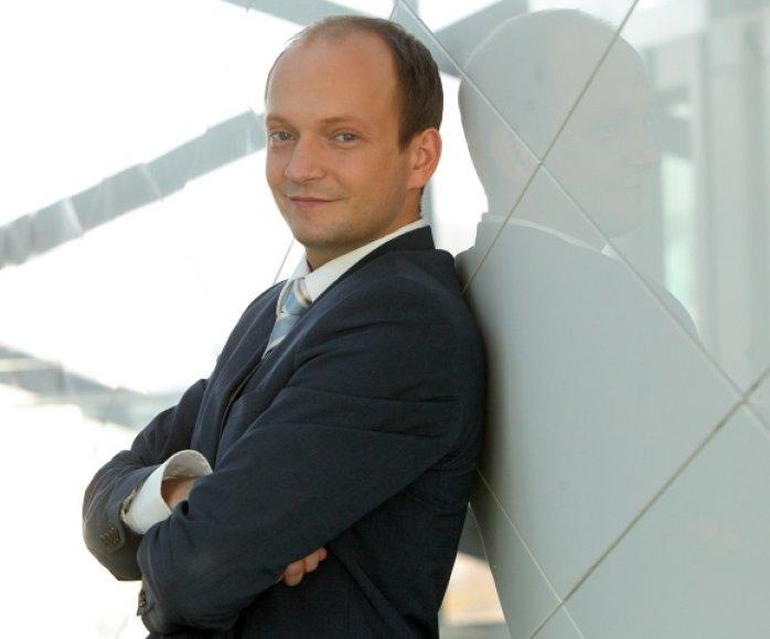 """Nerijus Mačiulis, """"Swedbank"""" vyriausiasis ekonomistas"""