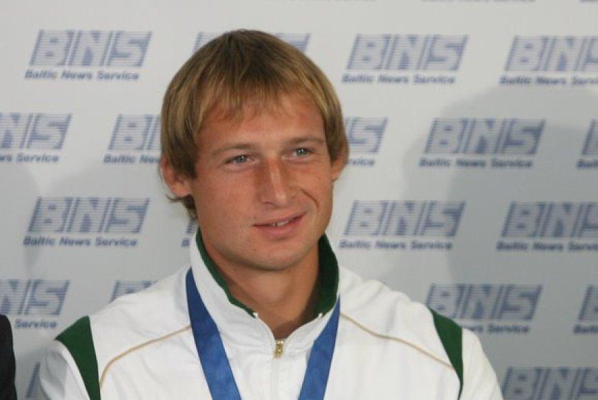 Mindaugas Griškonis Europos irklavimo čempionato nugalėtojas