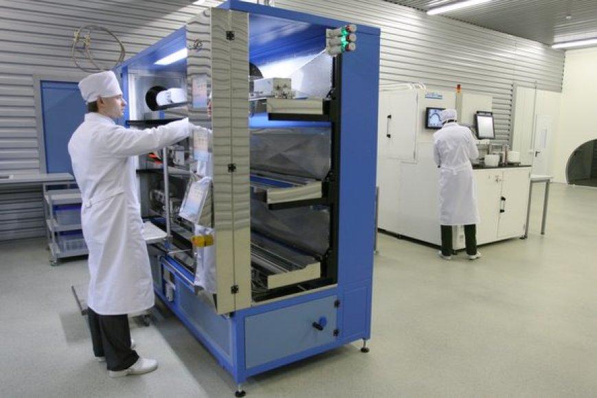 Prie modernių įrengimų dirba kvalifikuoti specialistai