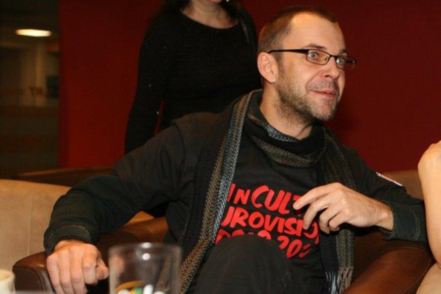 Prodiuseris Aras Vėberis