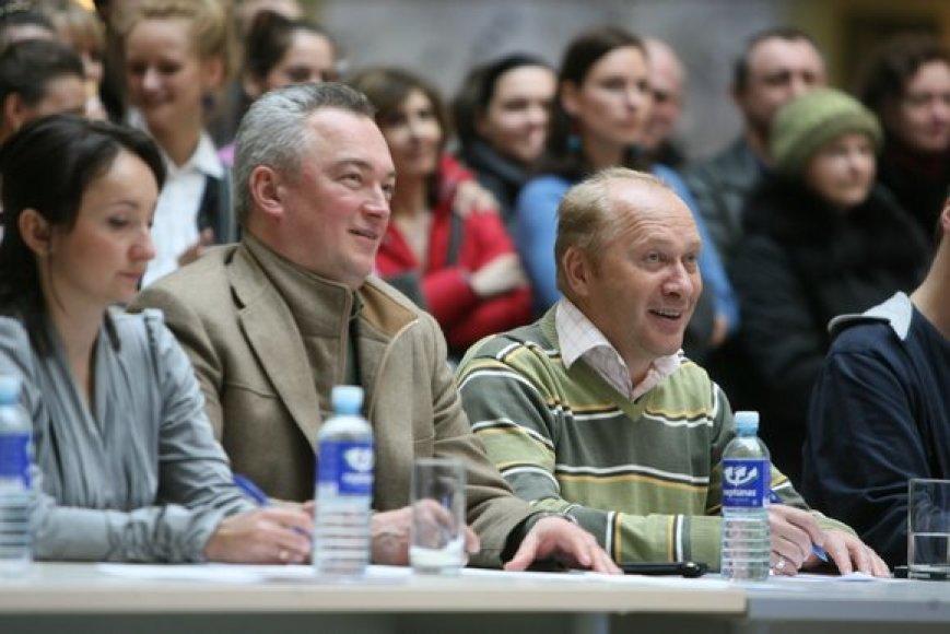 Juozas Aleksandravičius ir Jurijus Smoriginas
