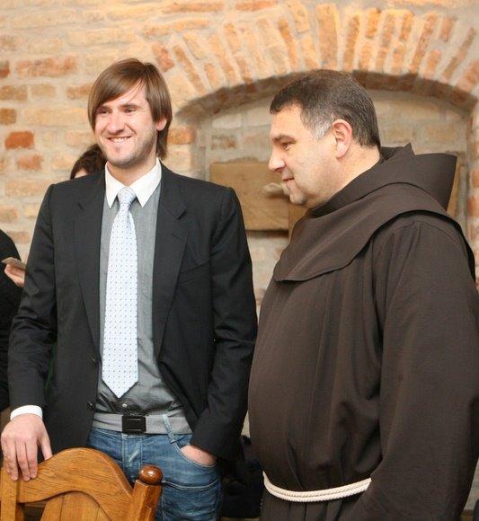 Gediminas Jaunius ir brolis Astijus