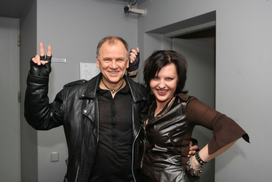 Vytenis Andriukaitis ir Donalda Meiželytė