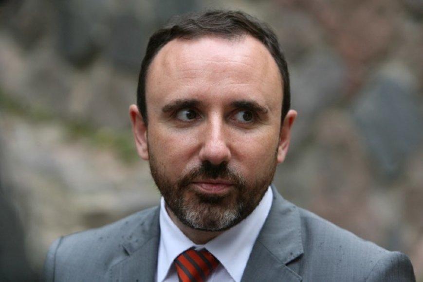 Kultūros ministras Arūnas Gelūnas