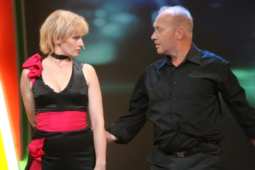 Rūta Janutienė ir Jurijus Smoriginas