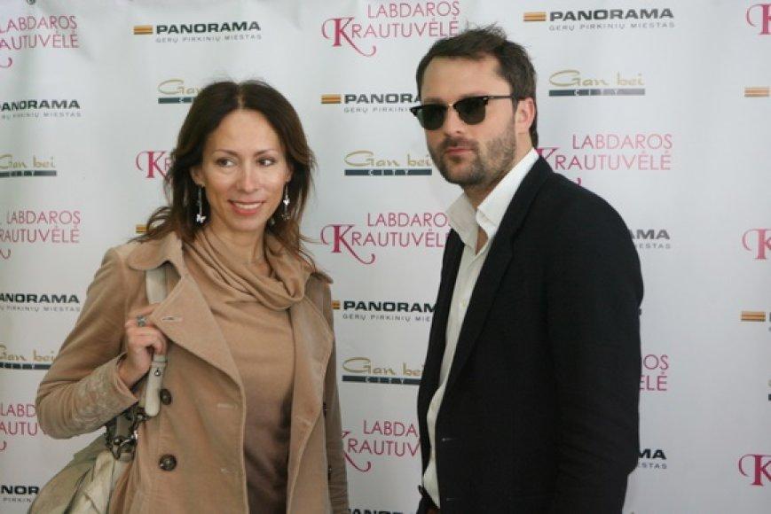 Jolanta Sadauskienė ir Mantas Petruškevičius