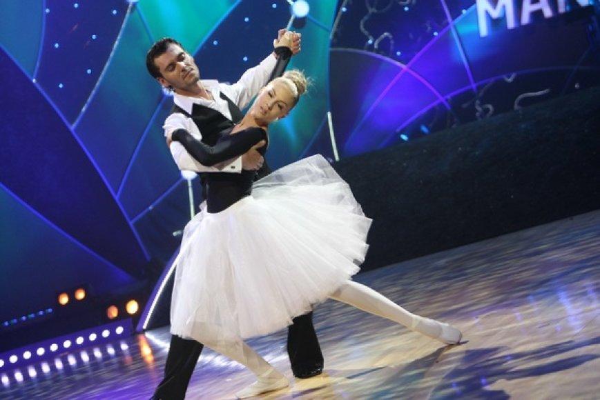 Kristina Ivanova ir Tadas Rimgaila