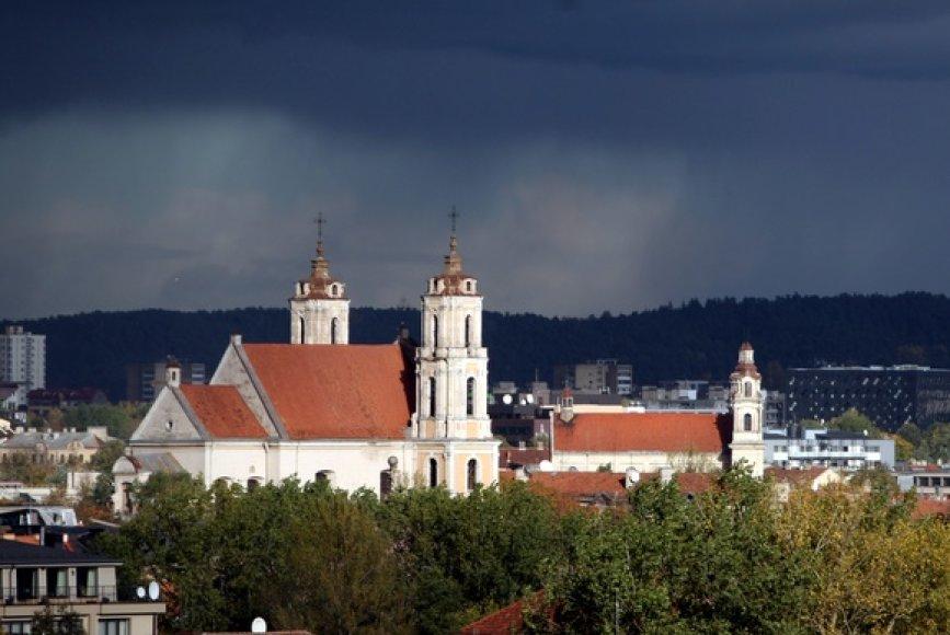 Vilnius prieš audrą