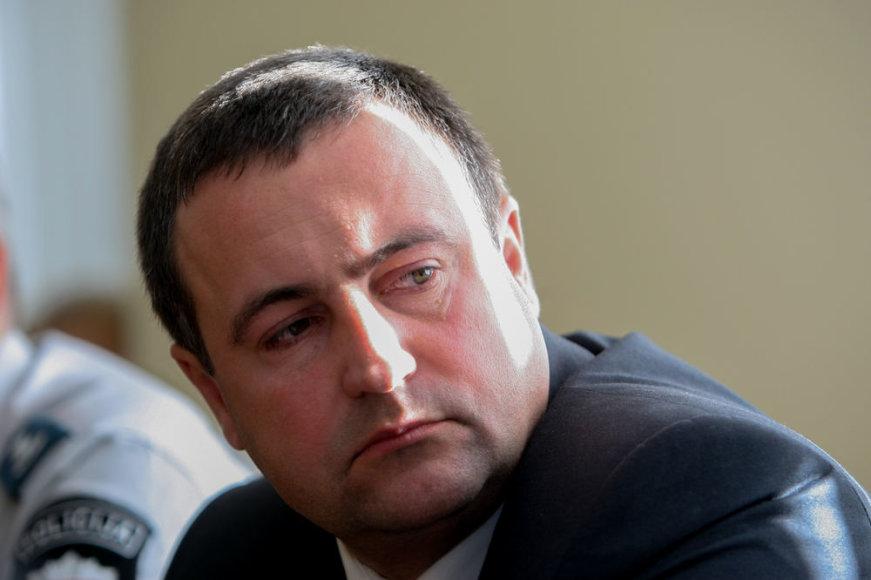 Policijos generalinio komisaro pavaduotojas Renatas Požėla